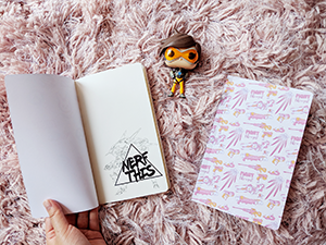 Overwatch Kawaii Notebooks D.Va Pharah Mercy Mei Zarya